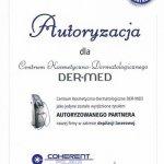 2013 Tytuł Autoryzowanego Partnera COHERENT POLSKA