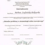 2005 Konferencja: Aktualne problemy w stomatologii wieku rozwojowego