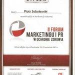 2011 Marketing w ochronie zdrowia