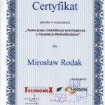 2009 Udział w warsztatach pt.: Nowoczesna rehabilitacja neurologiczna z wizualnym Biofeedbackiem
