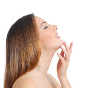 Liposukcja podbródka