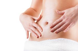 Laserowy resurfacing brzucha-